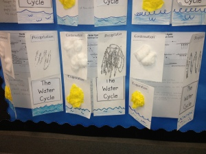 Water Cycle Flipbook