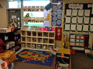 Take it in from all angles!  My class library remodeled!