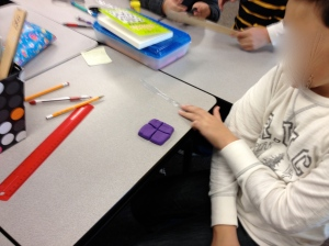 Fractions with playdoh!