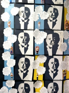 MLK wall of art and dreams...