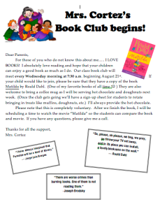 Book Club Notice-- Can't wait for next week.