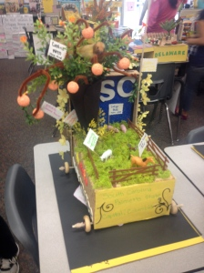 Loved, loved, loved how these shoebox state floats turn out as their final product.