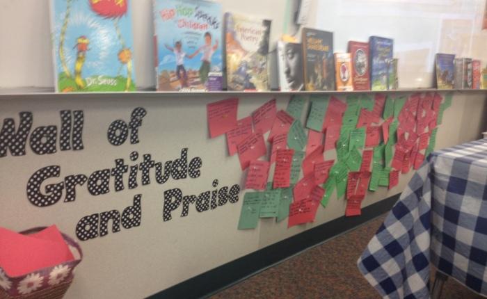 Wall of Gratitude &Praise