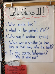 Questions critical readers need to ponder when reading news, history, etc. Thanks Teaching Channel!