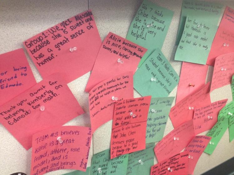 Wall of Gratitude & Praise
