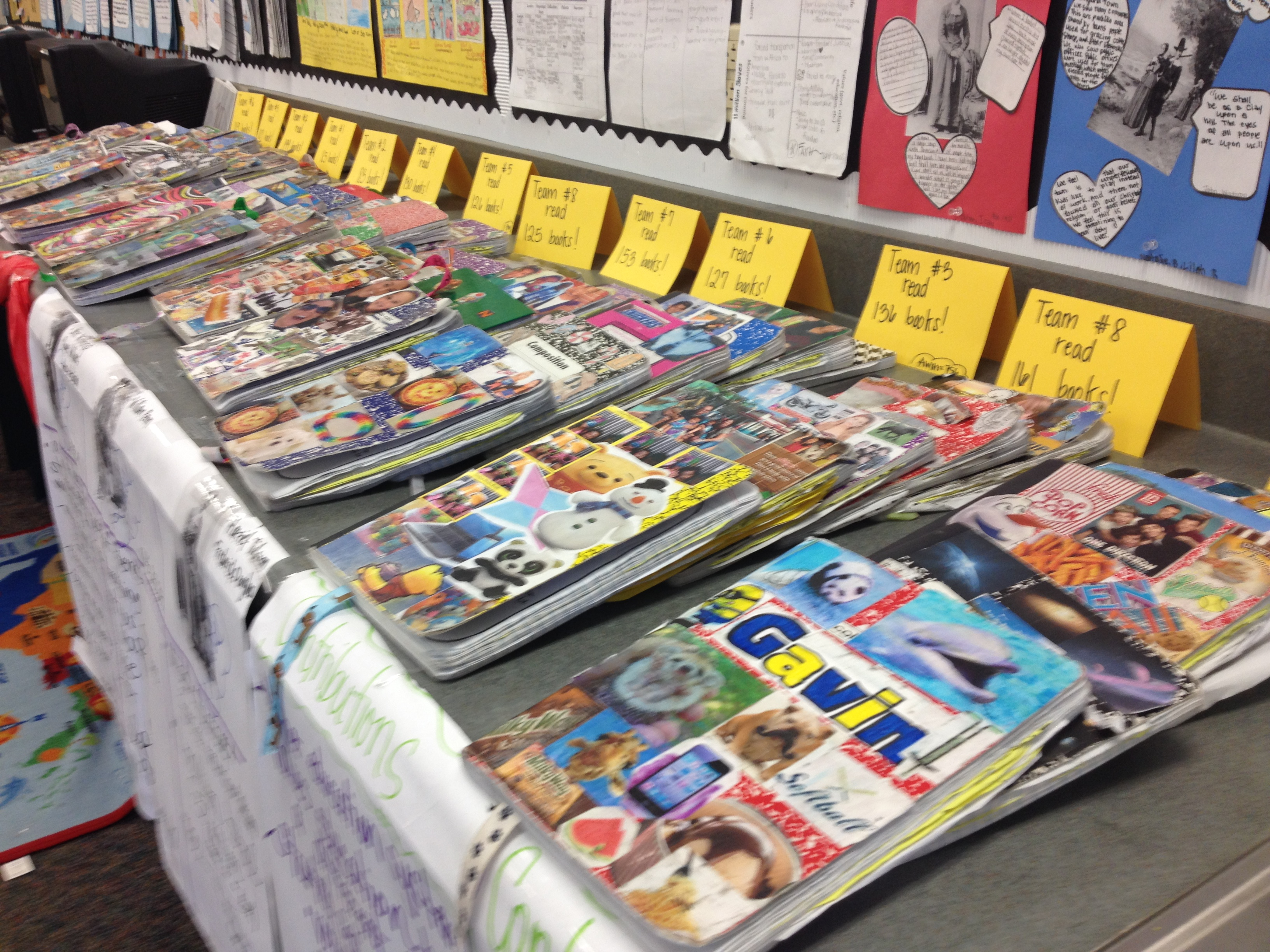 Readers Notebooks on Parade!