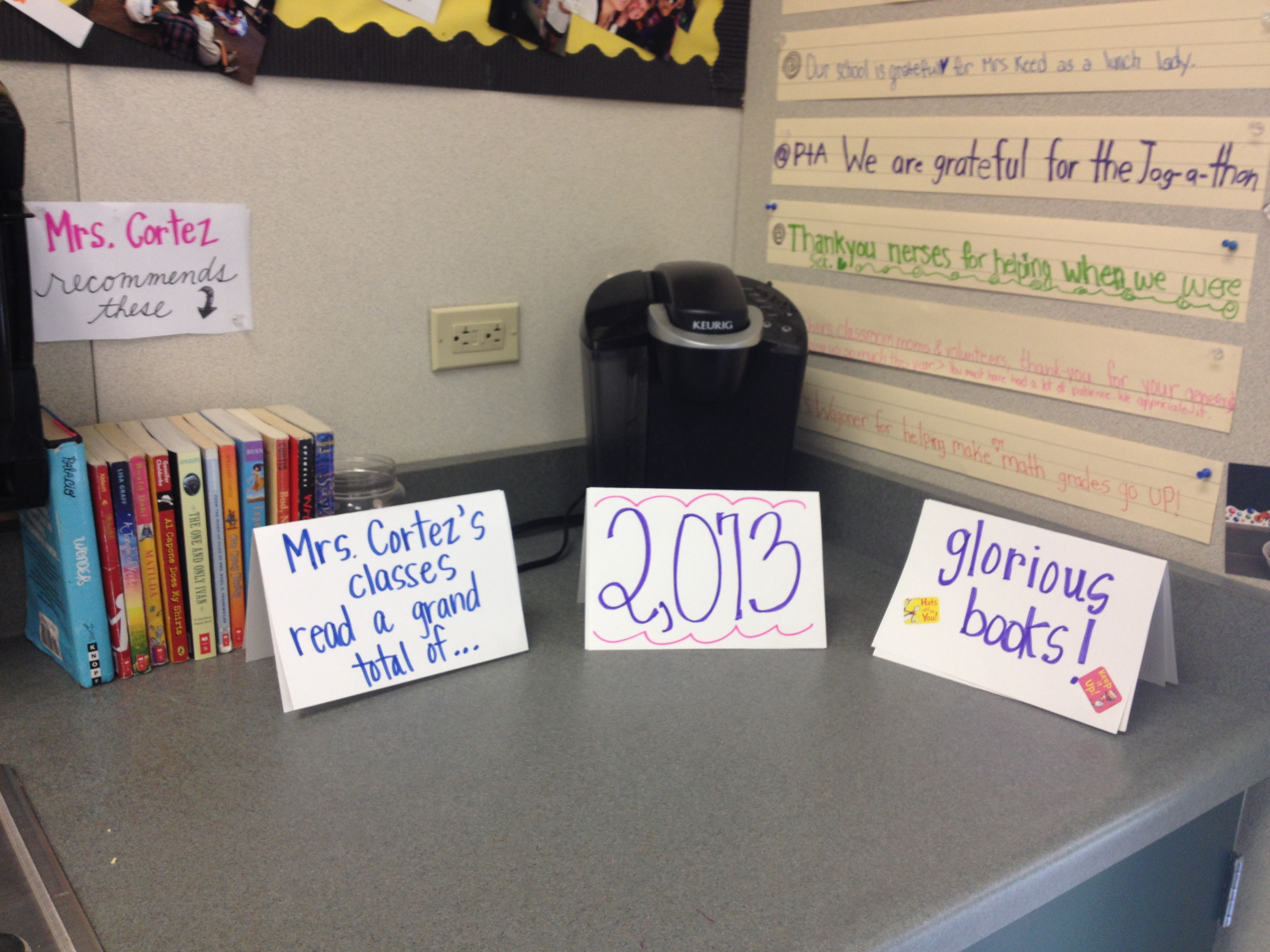 Open House- Bragging about our 40Bk challenge